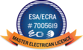 electrician licence number ESA/ECRA # 7005619